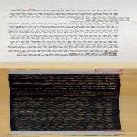 【打印级】SF6031247书法长卷宋拓卢陵本兰亭序卷图片-99M-17770X1965