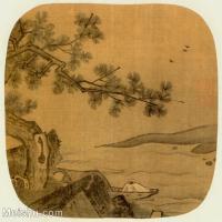 【印刷级】GH6080988古画山水风景宋元明合壁册30-小品图片-40M-3825X3690_2051147