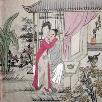 古代春宫秘戏图,各种不同姿势教学-春宫图