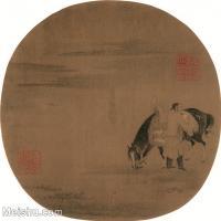 【印刷级】GH6080531古画人物佚名-番马图-小品图片-45M-3832X3685_18702850