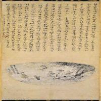 【打印级】GH6086263古画人物王羲之书扇图立轴图片-85M-3426X8676_27372731