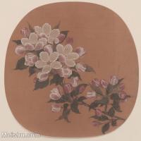 【印刷级】GH6080430古画花卉鲜花鸟-宋代-全册-小品图片-32M-3379X3321-32M-3379X3321