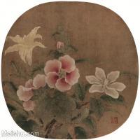 【印刷级】GH6080421古画花卉鲜花鸟-宋代-小品图片-53M-3877X3607