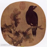 【印刷级】GH6156041古画宋人册页 花鸟花卉小品图片-53M-4510X4179