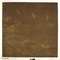 【印刷级】GH6155064古画立轴花鸟花卉明 吕纪 鹌鹑图轴 大英博物馆图片-24M-2480X3476_47845974
