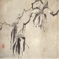 【欣赏级】GH6064786古画清朱耷八大山人-花鸟画册-(3)册页图片-4M-1508X1000