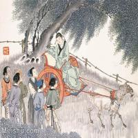 【印刷级】GH6061583古画任薰-生肖人物图册(6)-动物-未羊册页图片-73M-5652X4209_57064370