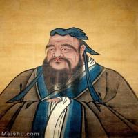 【印刷级】GH6156069古画明 佚名 孔子燕居像  曲阜孔府藏人物小品图片-34M-3000X4001_47848033