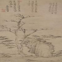 【超顶级】GH6085315古画树木植物-枯木幽篁图-元-倪瓒-纸本-30x88.5-110x324-山水-枯-立轴图片-636M-8686X25598_7636732