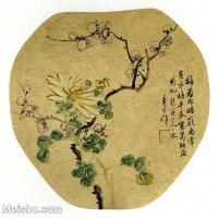 【印刷级】GH6080434古画花卉鲜花鸟-清代名家-小品图片-17M-2480X2428-17M-2480X2428_57379663