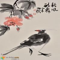啼鸣芬芳——王英钢的花鸟画