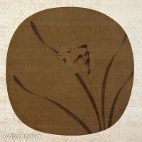 【印刷级】GH6080465古画花卉鲜花鸟宋-佚名-春光先到图-23-8x24--大都会博物馆小品图片-39M-3790X3669