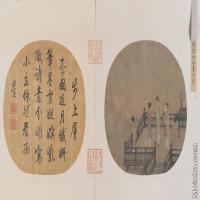【印刷级】GH6080580古画人物瑶台步月图-小品图片-189M-10658X6219