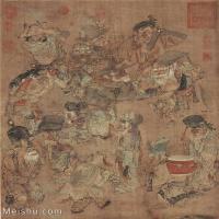 【欣赏级】GH6086139古画人物宋-佚名-达诺-40x45立轴图片-26M-2462X2820_1969091