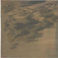 【印刷级】GH7280041古画山水风景宋 赵伯骕 万松金阙图镜片图片-65M-10547X2164