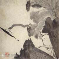 【欣赏级】GH6064791古画清朱耷八大山人-花鸟画册-(5)册页图片-4M-1511X1000