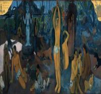 法国画家保罗·高更-我们从何处来?我们是谁?我们向何处去?画作赏析