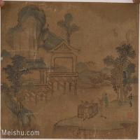 【欣赏级】GH6081058古画山水风景小品图片-12M-2321X1873