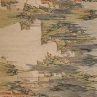 【超顶级】GH7280134古画山水风景浒溪草堂图纸镜片图片-223M-16927X3211_19104600