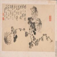 【印刷级】GH6040387古画镜片清 边寿民 杂画图片花草植物--30M-7136X3504_56912315