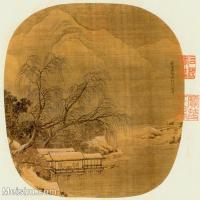 【印刷级】GH6080987古画山水风景宋元明合壁册28-小品图片-39M-3820X3618_2050414