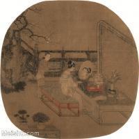 【印刷级】GH6080583古画人物苏汉臣-靓妆仕女图-小品图片-52M-4040X3969_2048776