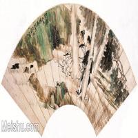 【欣赏级】GH6070200古画人物扇面图片-17M-3076X1448_18119063