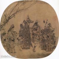 【印刷级】GH6080585古画人物货郎图小品图片-77M-5374X5020_18722522