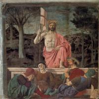 皮耶罗-基督复活画作赏析