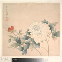 【印刷级】GH6080225古画花卉鲜花鸟小品图片-44M-4000X3875