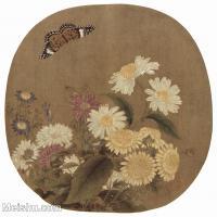 【印刷级】GH6156030古画花鸟花卉小品图片-20M-2736X2626