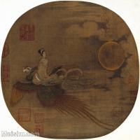 【印刷级】GH6156057古画宋人册页 人物小品图片-40M-3828X3711