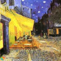 梵高的《夜晚的咖啡馆》赏析