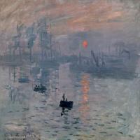 法国印象派画家克劳德·莫奈-「日出·印象」艺术作品欣赏