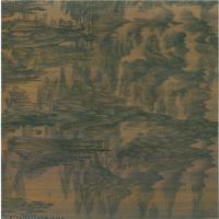 【印刷级】GH7280068古画山水风景五代董源 夏山图镜片图片-108M-15805X2400_5102324