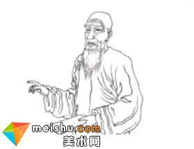 吴熙载《东方朔画赞》-他在终生潦倒中,成就晚清书法艺术大师