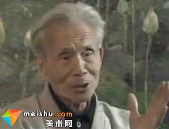 油画人物志吴冠中