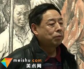 画家苗再新-中国人物画