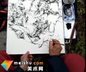 白云乡老师山水写生(共三集)