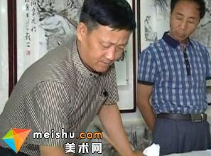 张立奎-《悦心书画苑》栏目专访人物