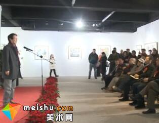 墨与彩之新韵章张宏宾师生精品展-《中国画都风向标》