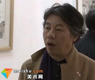 马刚中国山水画展在潍坊举办-逸笔大风歌