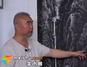 来支钢-我为中国画笔墨的表现力代言