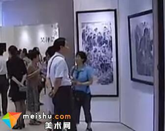 吴泽浩国画作品展开展-早安山东