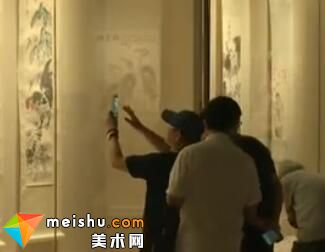 中国园林博物馆举办李苦禅画展