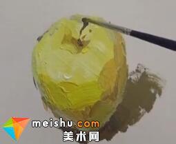 龚永光色彩单体塑造苹果-美术高考教学视频