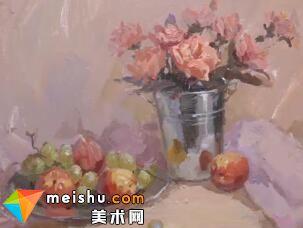 龚永光色彩不锈钢花卉-美术高考教学视频