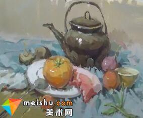 龚永光山东联考色彩讲解-美术高考教程