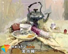 「美术高考」王棒棒色彩静物-杭州凝结画室