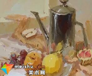 龚永光色彩不锈钢和水果-美术高考教学视频